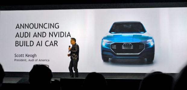 NVIDIA e AUDI prevêem carro com IA para 2020