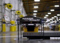 Amazon faz primeira entrega com drone nos EUA