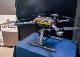 Drones auxiliam Guarda Civil Metropolitana no monitoramento da cidade de SP