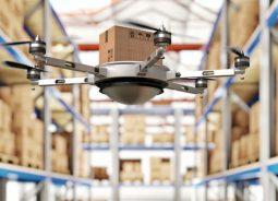GTP alia tecnologia RTLS ao uso de drone para gestão de estoque