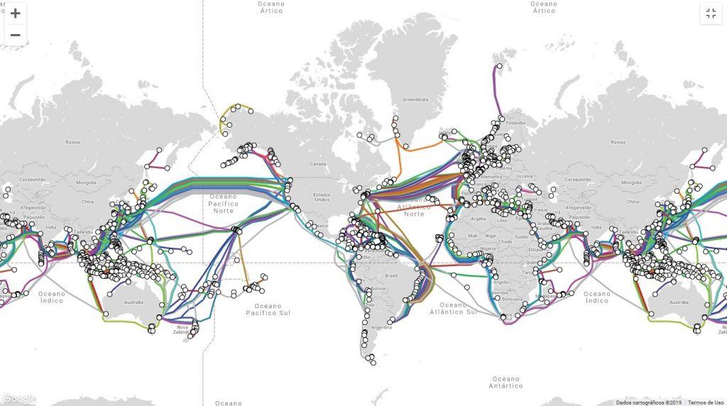 GlobeNet escolhe Equinix para sistema de cabo submarino entre Brasil e Argentina