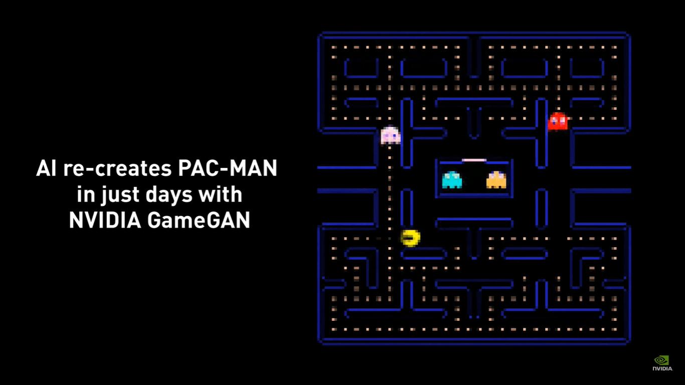 PAC-MAN comemora 40 anos recriado por Inteligência Artificial da Nvidia