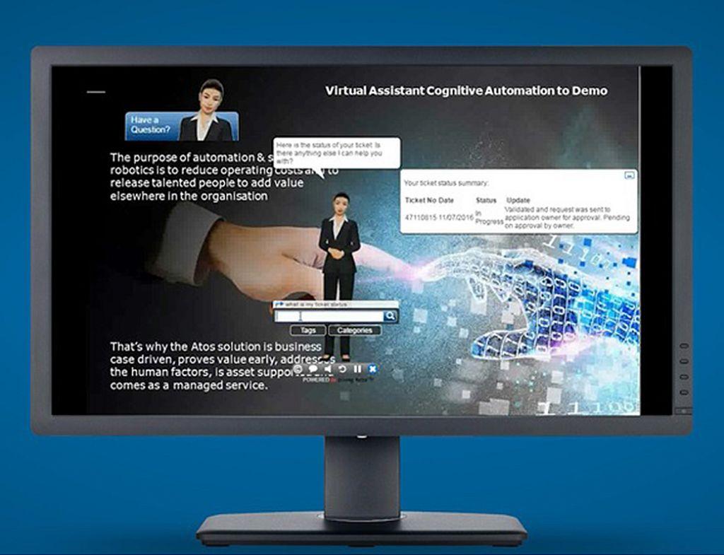 Atos lança assistente virtual para transformar o suporte de TI