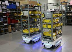 Robôs móveis autônomos são alternativa 4.0 para logística interna de fábricas