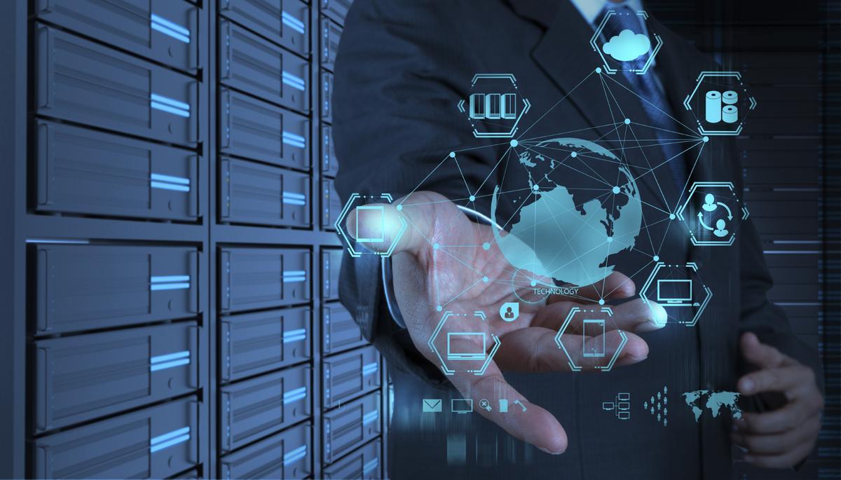 plataforma de IoT na palma da mão