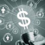 ideia transformada em dinheiro