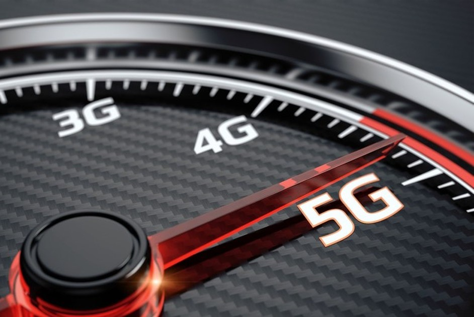 velocidade da 5G