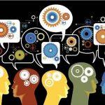 ideias saindo de cabeças