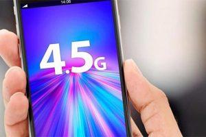 tecnologia móvel 4,5g