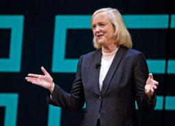 Após o anúncio de saída de Meg Whitman da HPE, ações da empresa caem 6%