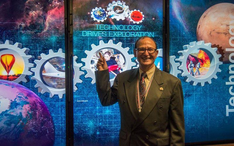 Cientista da NASA, participante da Missão Apollo, vem pela primeira vez ao Brasil falar sobre inovação tecnológica