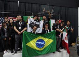 Equipe de Robótica Brasileira ganha competição nos Estados Unidos