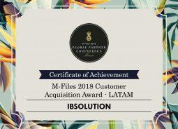 IBSDocs, distribuidora do M-Files no Brasil é premiada na Global Partner Conference M-Files 2018