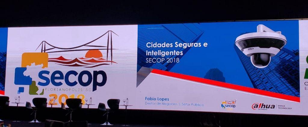 Dahua Technology apresentou soluções para cidades seguras e inteligentes no SECOP 2018