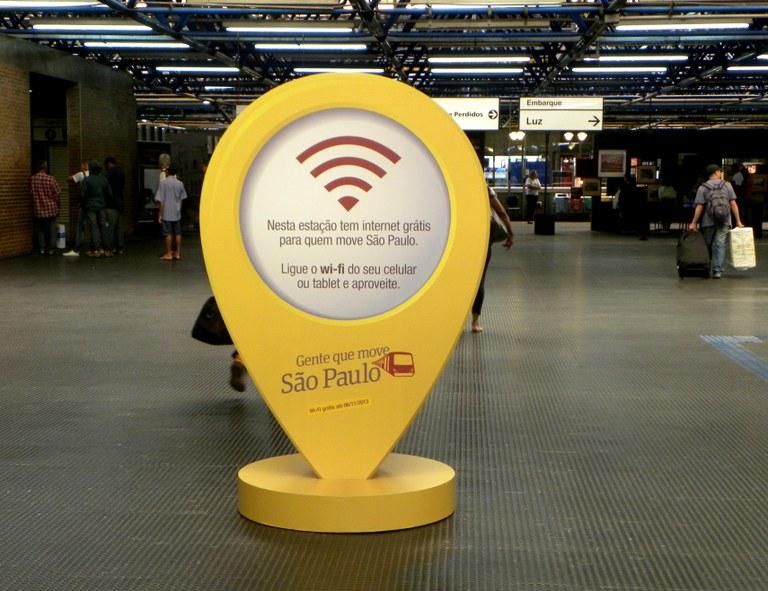 Em São Paulo, estações de trem da CPTM testam Wi-Fi grátis