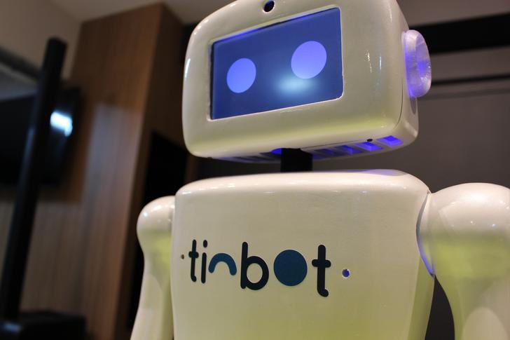 Robô com Inteligência Artificial discute o futuro do trabalho em São Paulo