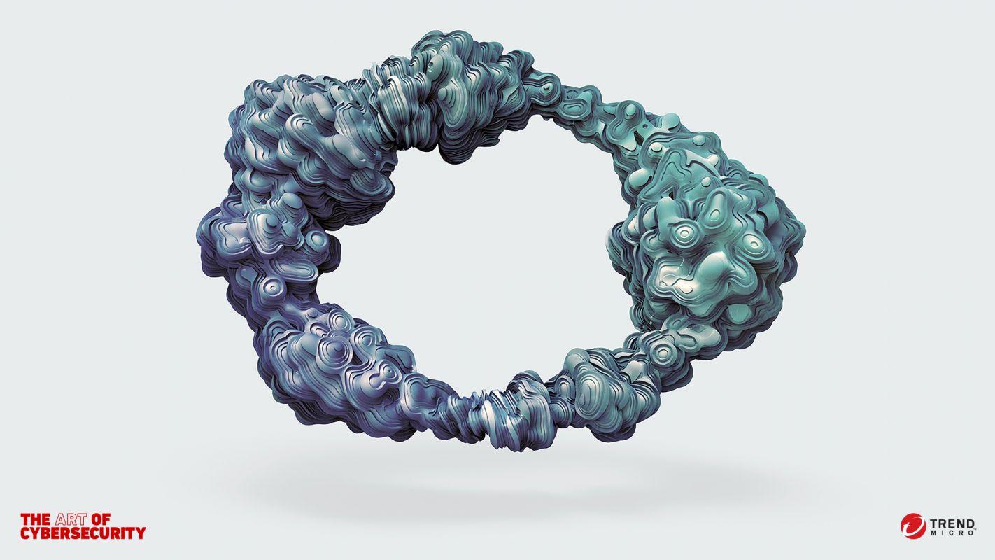 Em parceria com grandes artistas, Trend Micro transforma dados de cibersegurança em arte