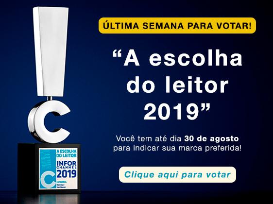 A escolha do leitor 2019 Vote agora