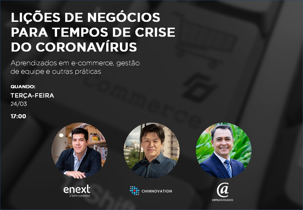 Webinar gratuito dá lições para os negócios digitais em tempos de crise do coronavírus