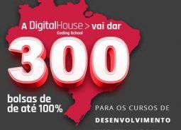 Última semana para inscrições no programa de bolsas da Digital House