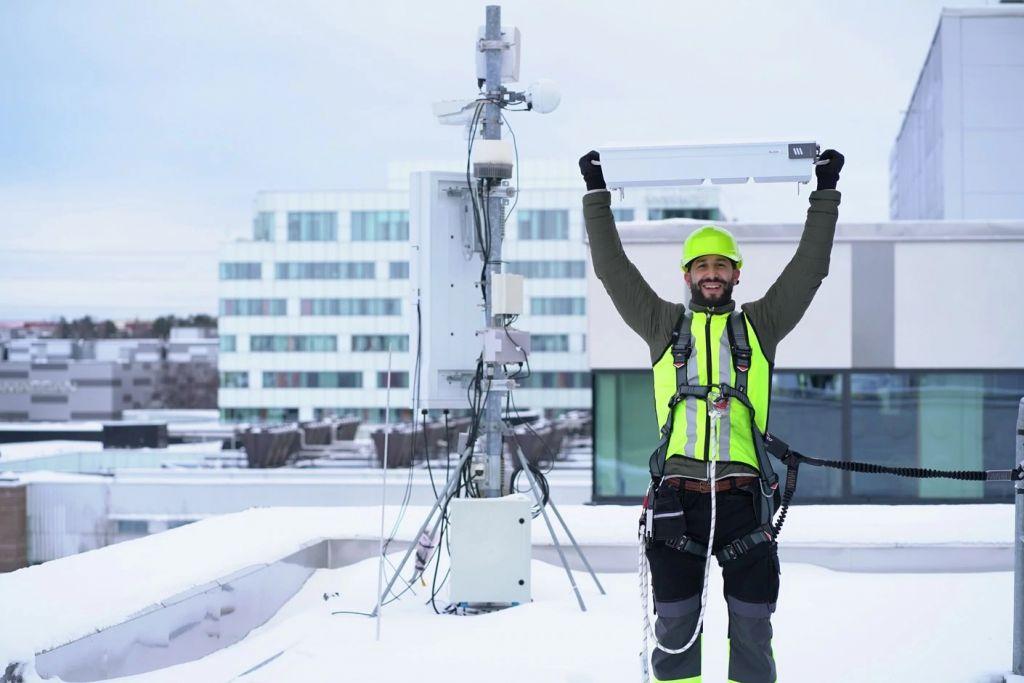 Ericsson amplia portfólio de soluções 5G de banda média