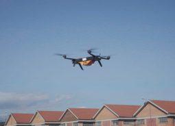 Leonardo testa drone para transporte de mercadorias pesadas
