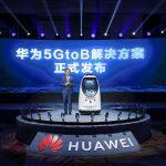 5GtoB: o primeiro grande lançamento da Huawei em 2021