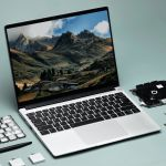Notebook verde facilita reparos e personalização