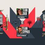 Saga realiza 'Desafio de Valorant' com dubladores do jogo em seu canal na Twitch