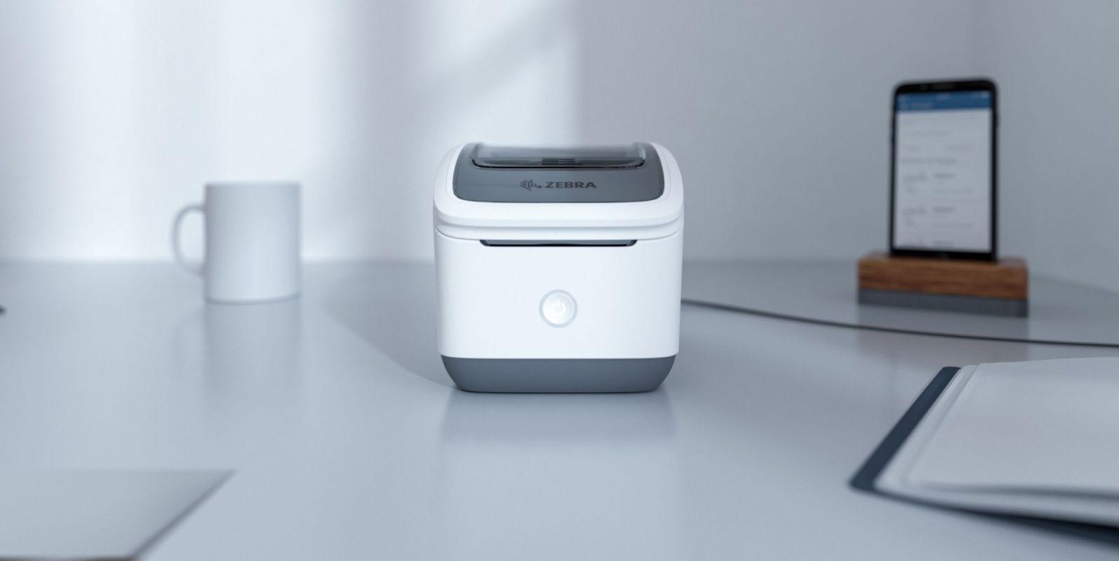 Zebra apresenta sua primeira impressora de etiquetas sem fio