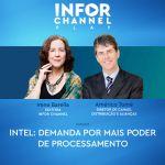 Intel: Demanda por mais poder de processamento