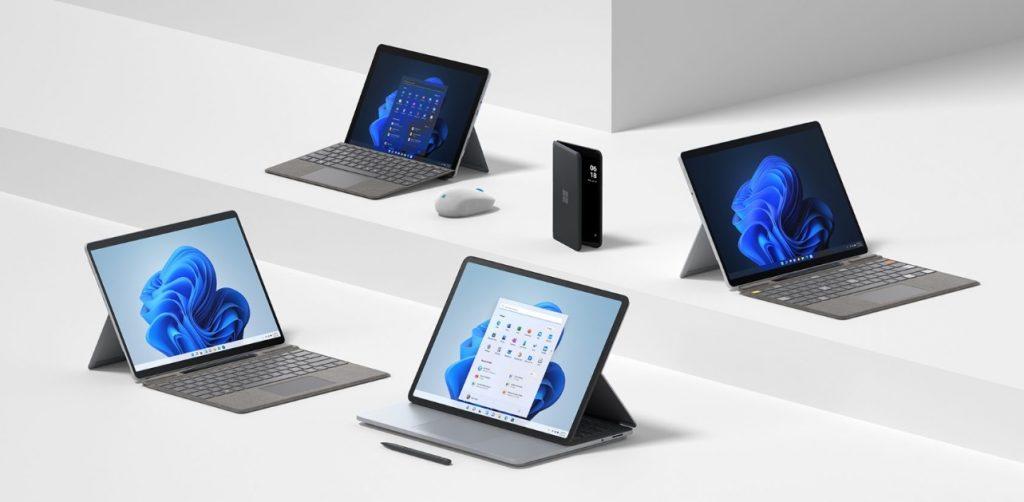 Microsoft renova linha Surface com equipamentos prontos para Windows 11