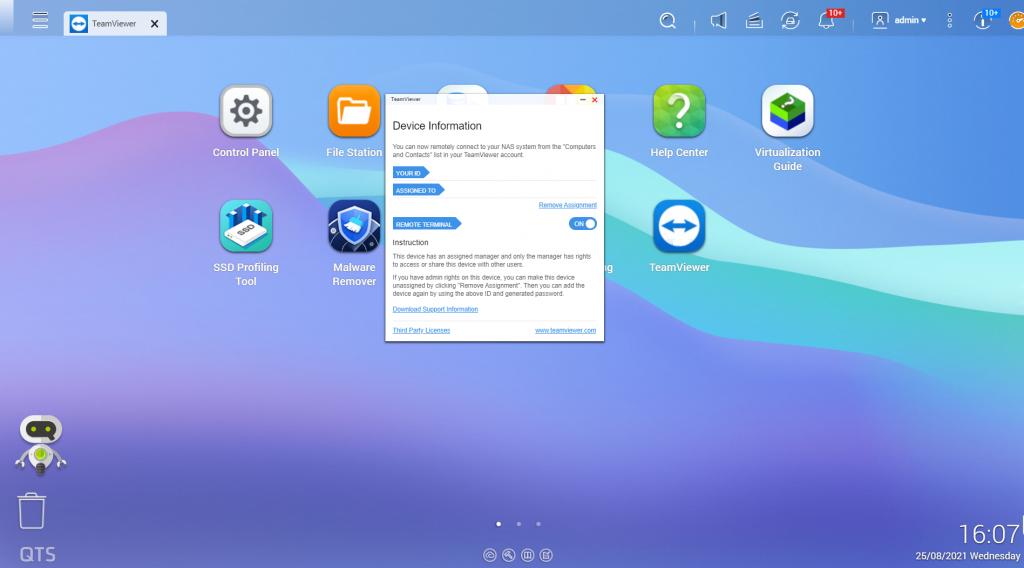 QNAP habilita acesso remoto TeamViewer para dispositivos NAS