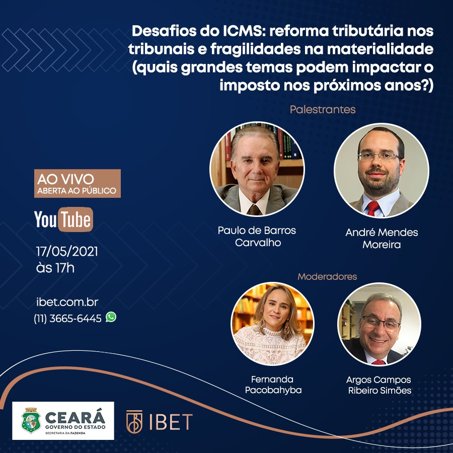 evento Desafios do ICMS